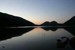 tramonto a Jordan pool