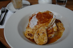 ricotta pancakes at bill's