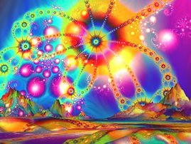 Land of Psychedelic Illuminations (©Brian Exton)