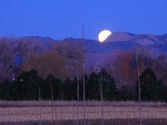 Moonset Behind Greyrock