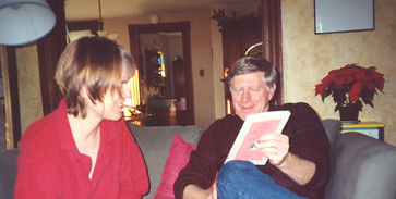 michael (my step-dad) and my mom