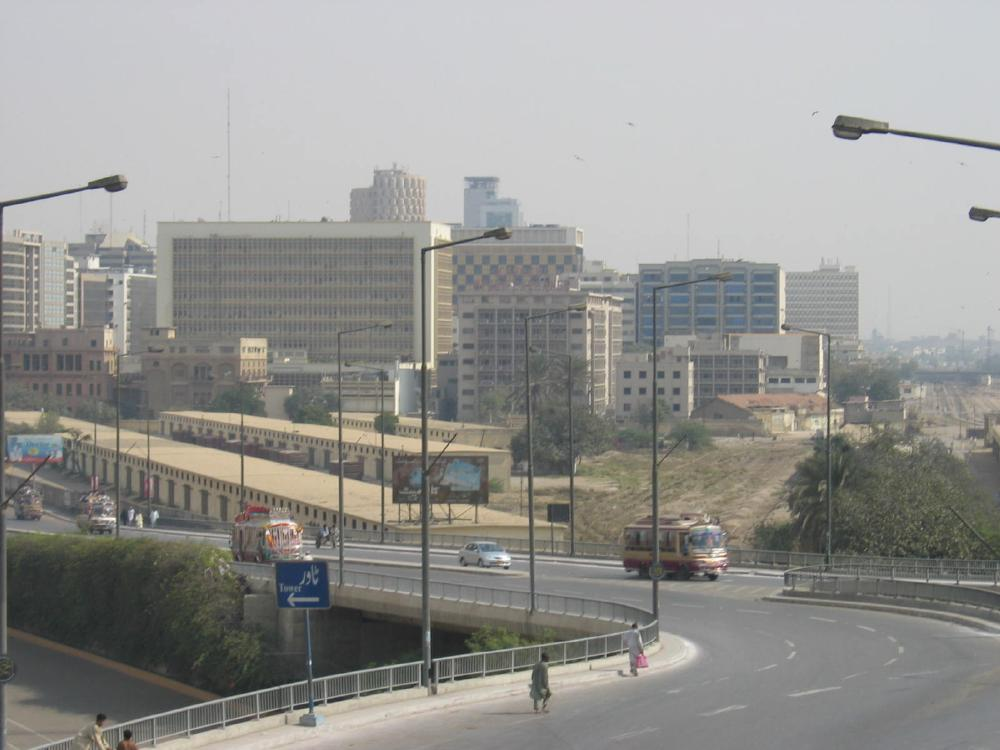 View From Jinnah Bridge