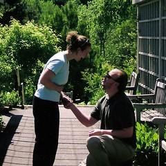 john proposing
