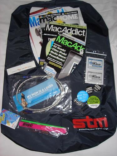 Macworld Expo Swag