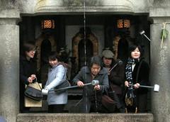 at Kyomizu-dera
