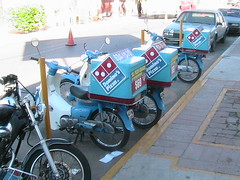 Domino's Scooters