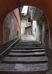 Fenestrelle steps