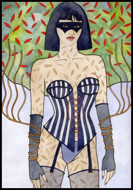 A corset a masque a mystery