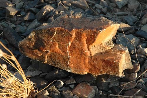 Quartzsite rocks