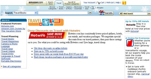 Hotwire on Amazon