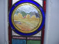 closeup of glass painting 1