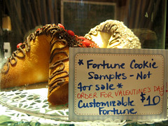 ginormous fortune cookies