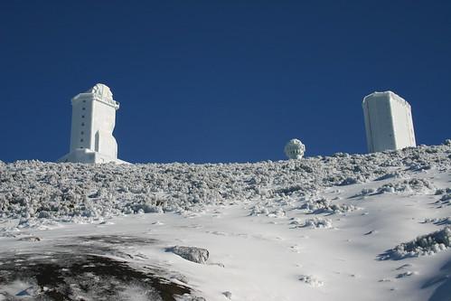 Observatorio Astronómico de Izaña (2386m).