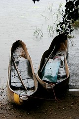 Dugout canoes