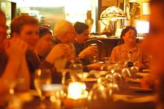 Post-Moose Camp Greek dinner 1