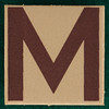 T-Shirt Printing Workshop letter M