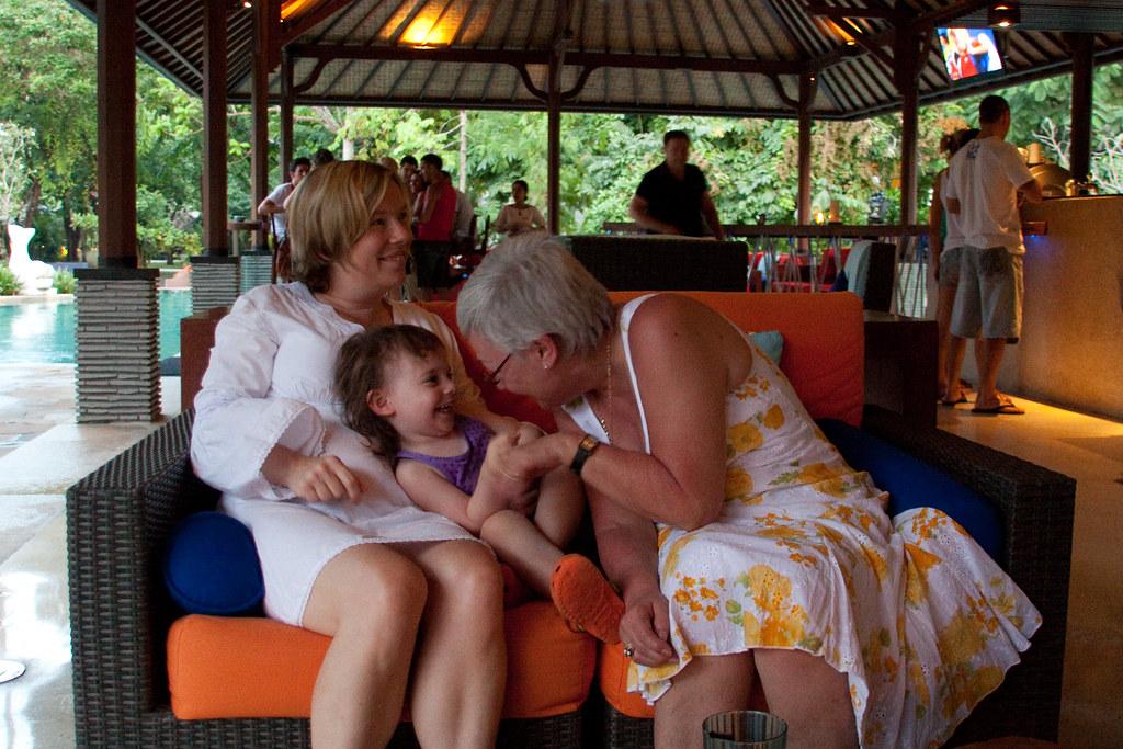 Mummy, Lily and Grandma