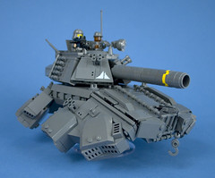 Iron Mountain Legion - Prototype Hover Tank - 07 photo by Happy Weasel