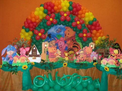 Tema Ursinho Pooh photo by Joaninha Decorações