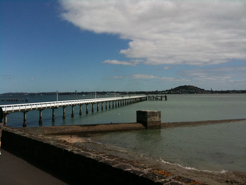 Waitemata Harbour about 2 hours after tsunami arrival time