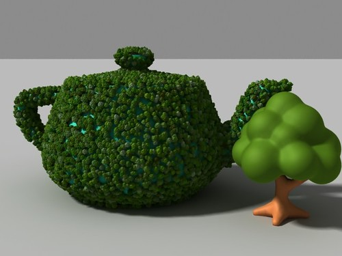 VrayScatter, plugin to generate huge amounts of objects in 3dsmax