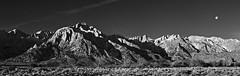 Sierra Moonset photo by v on life