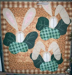 Bunny wallhanging photo by ruthiequilts