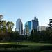 Melbourne CBD form Carlton Gardens
