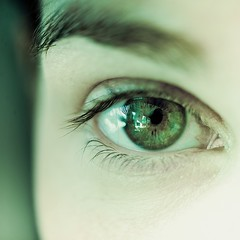 Woman / Eye photo by ►CubaGallery