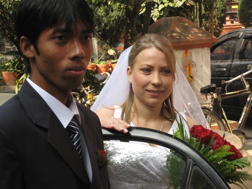 Marriage of Tanea and Ajai in Nepal