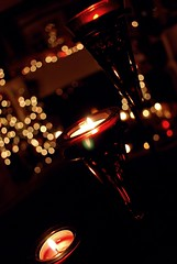 Candle light bokeh photo by Jasmine Golden-Sea