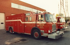 North York Fire 11 Rescue, 19 May 1992. photo by JL1967