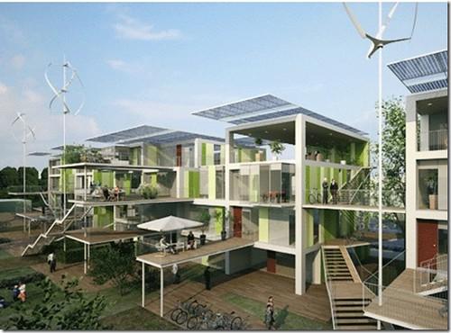 Arquitectura bioclimatica protectora del medio ambiente for En que consiste la arquitectura