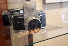 Exacta Film Camera | Glass Bokeh photo by Jasmine Golden-Sea