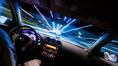 Night Driving photo by Sky Noir