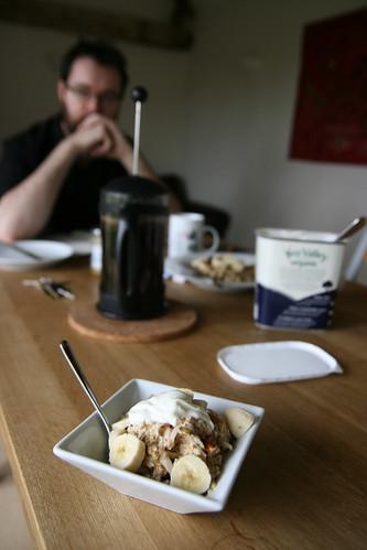 Bircher breakfast fuel