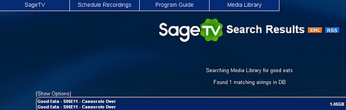 Convert to TV SageTV Howto 3