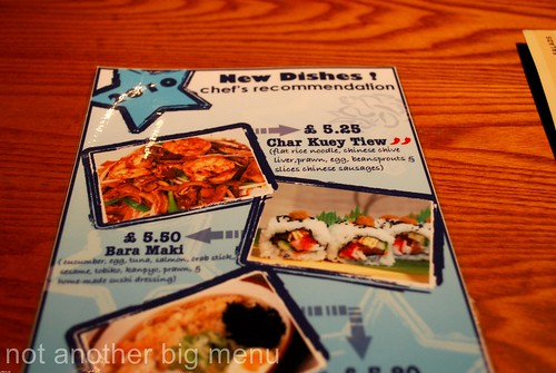 Hare & Tortoise menu 2