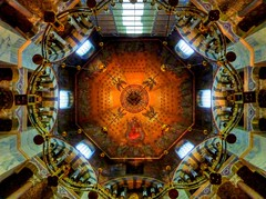 Aachen Cathedral: Octagon / Oktogon photo by Claude@Munich
