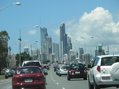 City of Gold Coast From Southport photo by thienzieyung