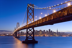 Bay Bridge Twilight photo by David Shield Photography