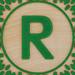 Block Letter R