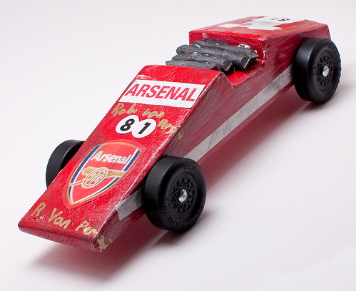 Pinewood Derby: Arsenal Destroyer 81