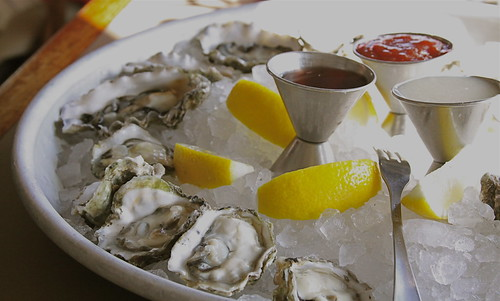 Oysters at Sam's Chowder House
