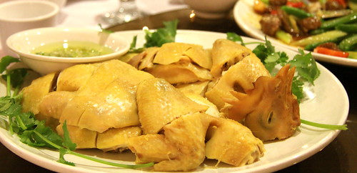 Wedding - Steamed chicken with ginger
