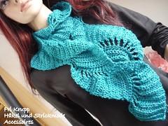 Cachecol Boteh em Linha- croche - Gehäkelter Boteh Schal. aus garn photo by Fri Krupp - Häkel und Strickmoden/-accessoires