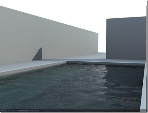 Hacer textura de agua en una piscina con vray - Materiales para construir una piscina ...