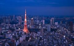 Tokyo from Mori Tower Sky Deck photo by Sarmu