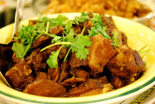 M'sian cooking - Black bean spare ribs