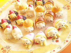 Kawaii Nyan Nyan Nyanko Small Sweets Deco Cabochon Japan photo by Kawaii Japan